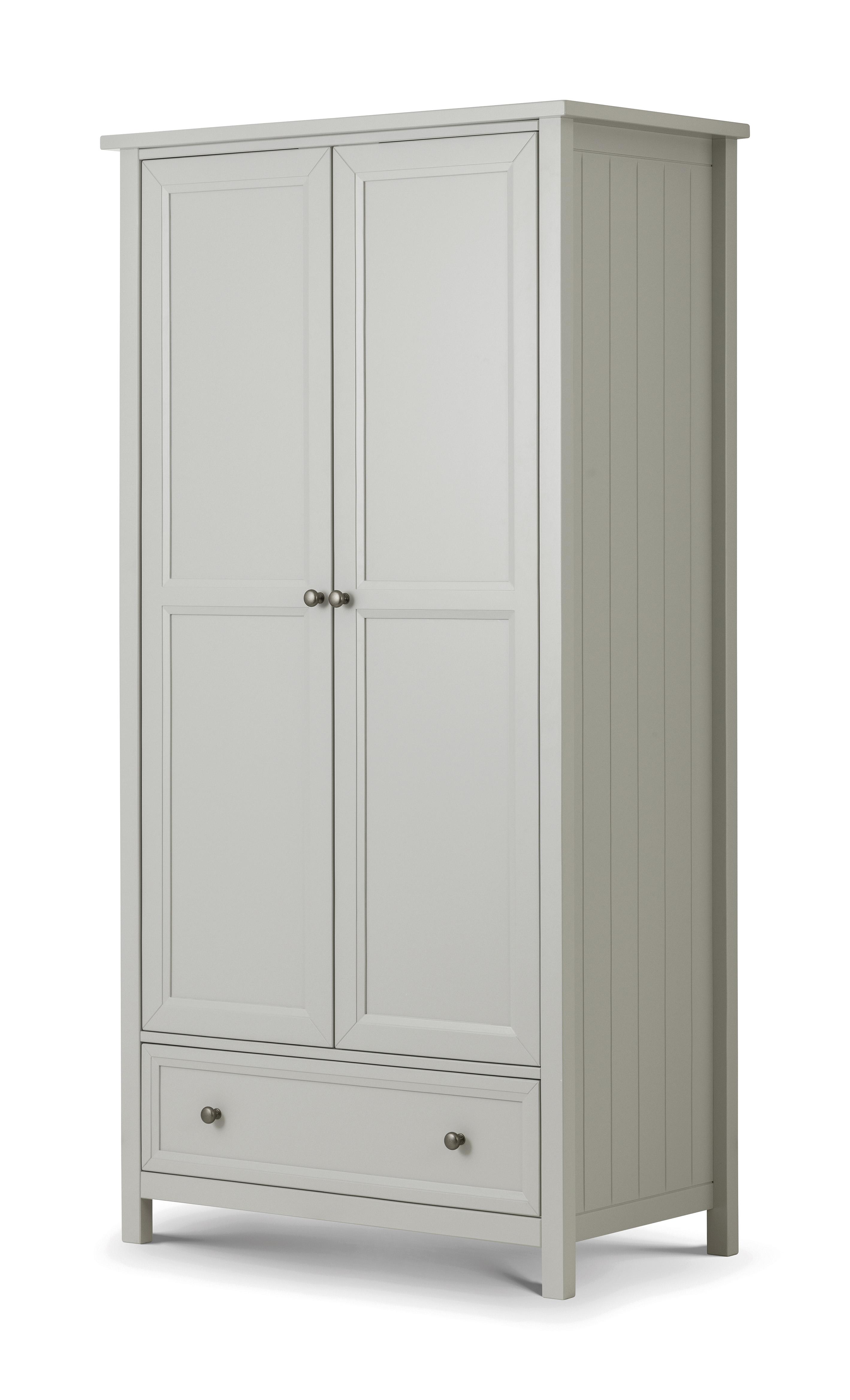 Maine 2 Door Combination Wardrobe  sc 1 st  Atkins Beds \u0026 Furniture & Maine 2 Door Combination Wardrobe - Atkins Beds \u0026 Furniture - Brand ...