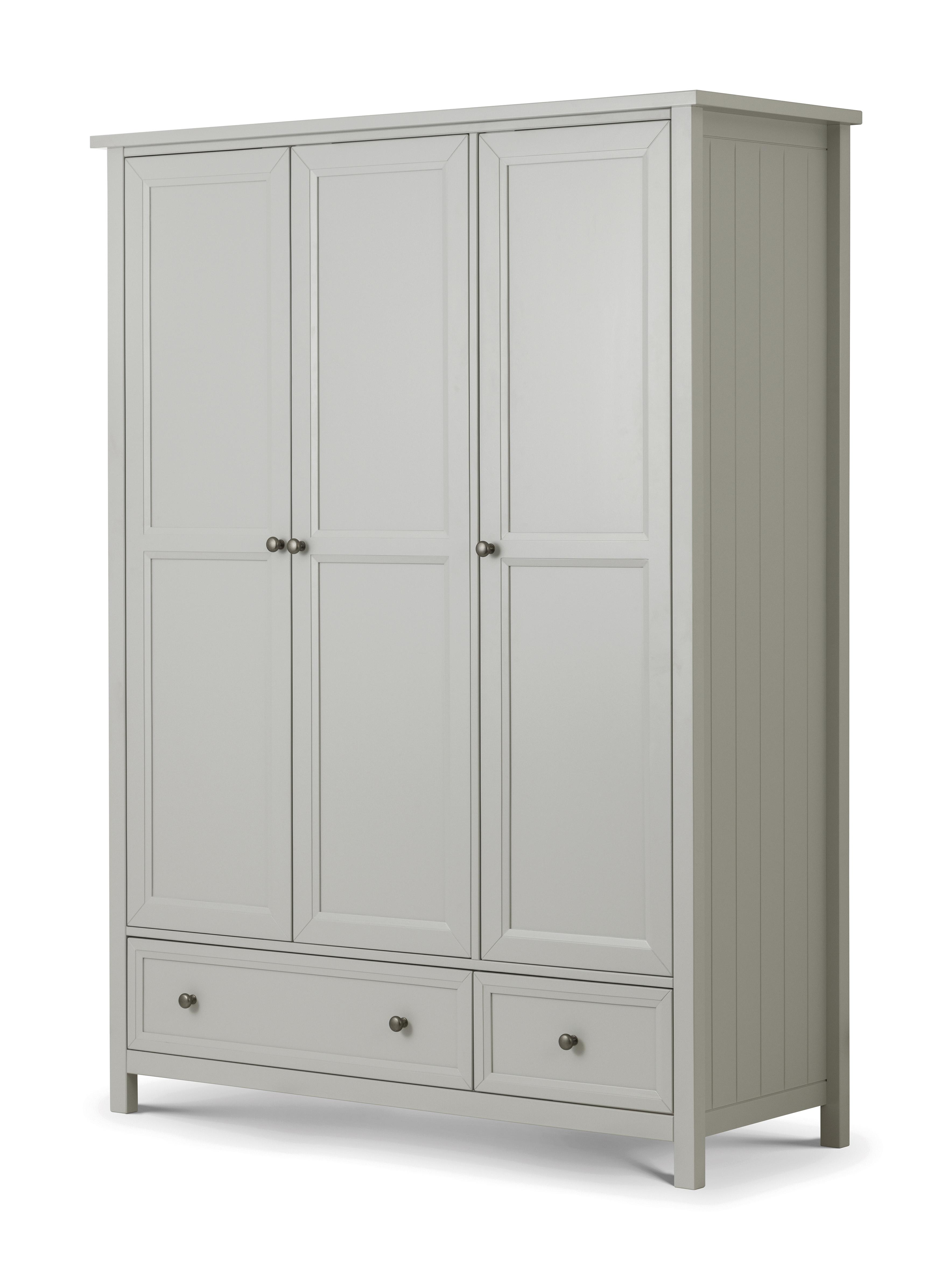 Maine 3 Door Combination Wardrobe  sc 1 st  Atkins Beds u0026 Furniture & Maine 3 Door Combination Wardrobe - Atkins Beds u0026 Furniture - Brand ...